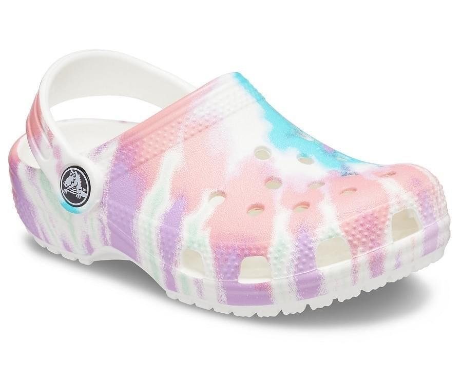Crocs Classic Tie-Dye Graphic Klomp Kids Multicolor