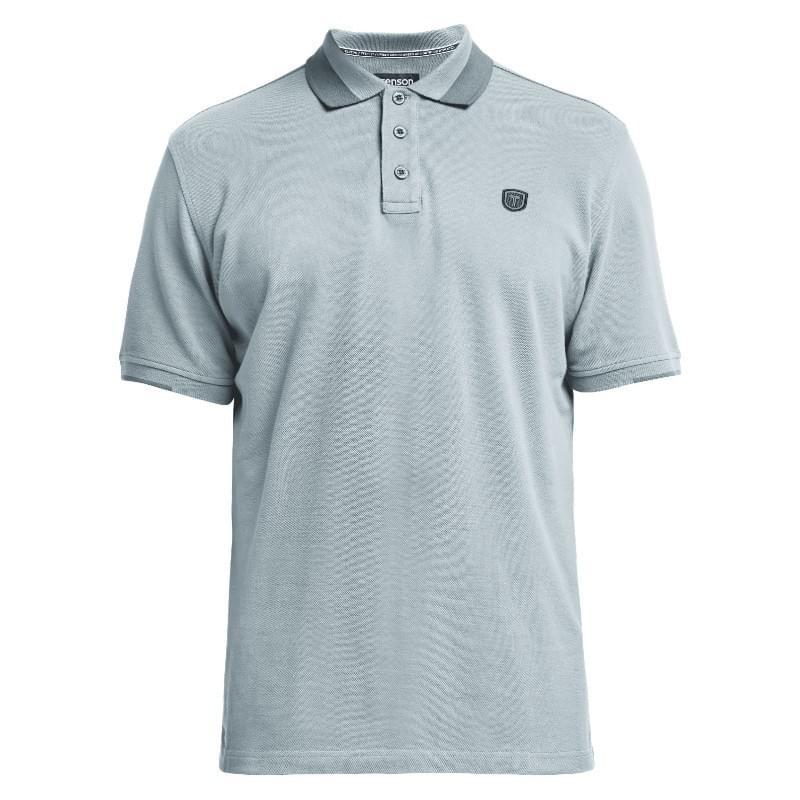Tenson Essential Polo Heren Blauw