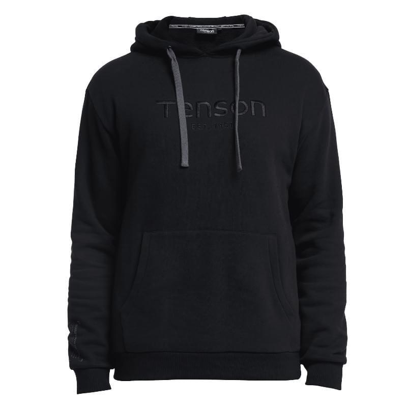 Tenson Essential Hoodie Heren Zwart