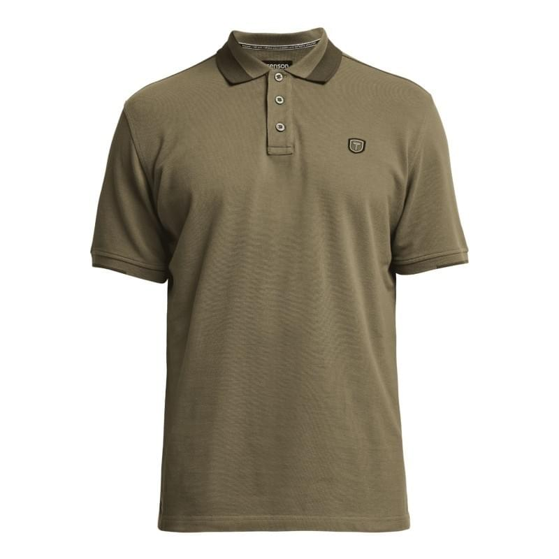 Tenson Essential Polo Heren Groen