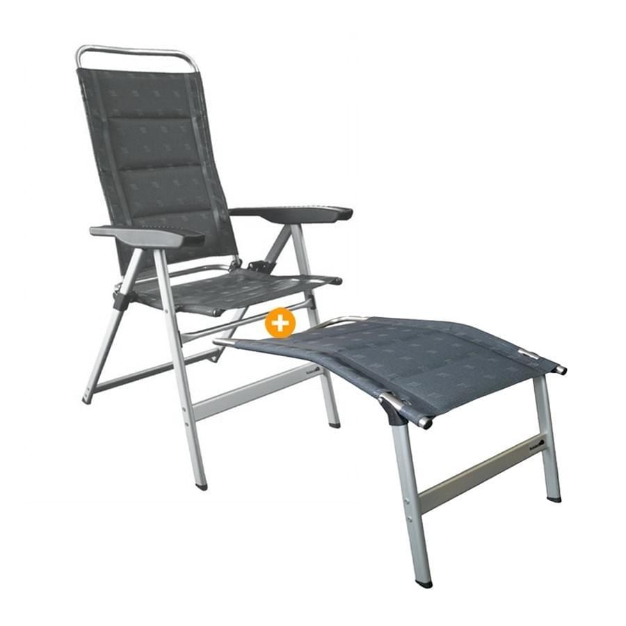 Dukdalf Brillante 0677 - Campingstoel + Voetensteun