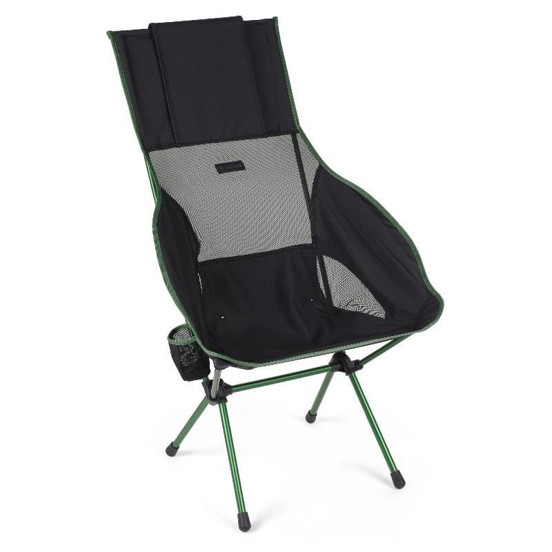 Helinox Savanna Chair Special Lichtgewicht Stoel Zwart
