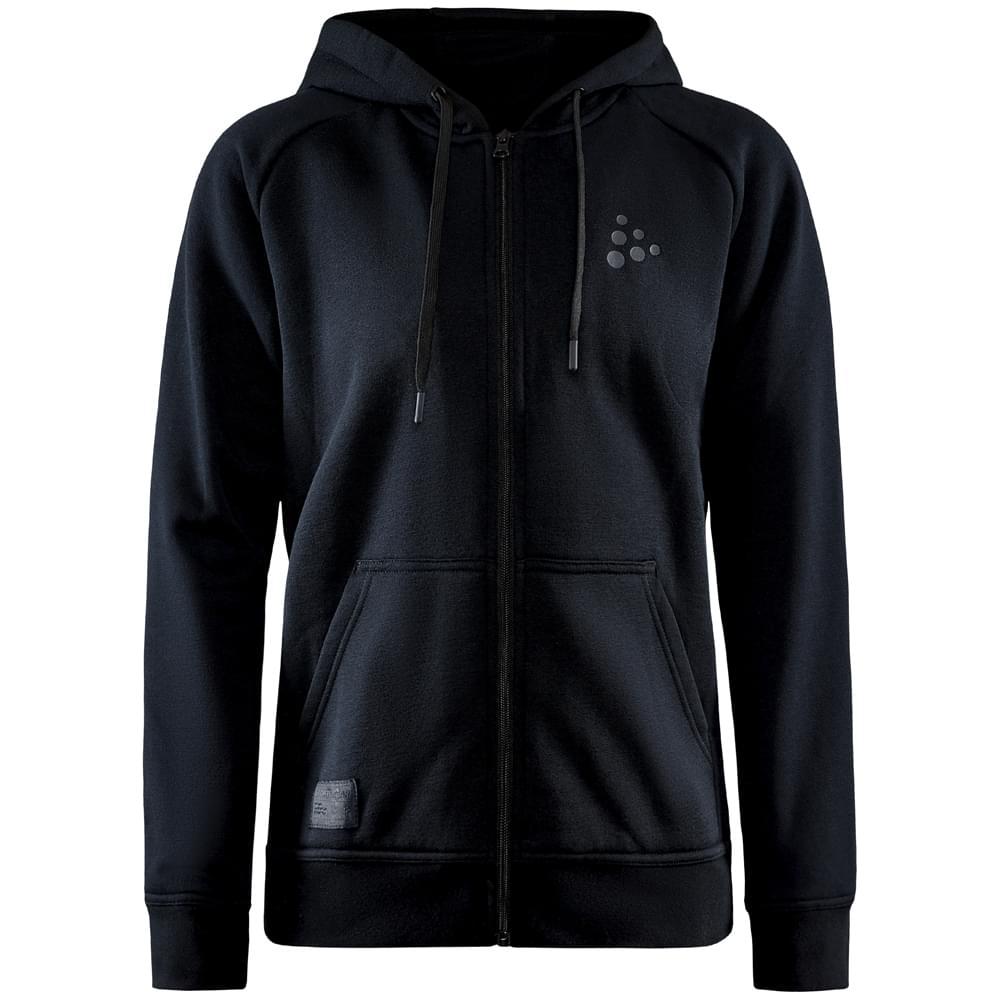 Craft Core Zip Hoodie Dames Zwart