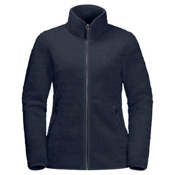 Jack Wolfskin High Cloud Fleece Jacket Dames Donkerblauw