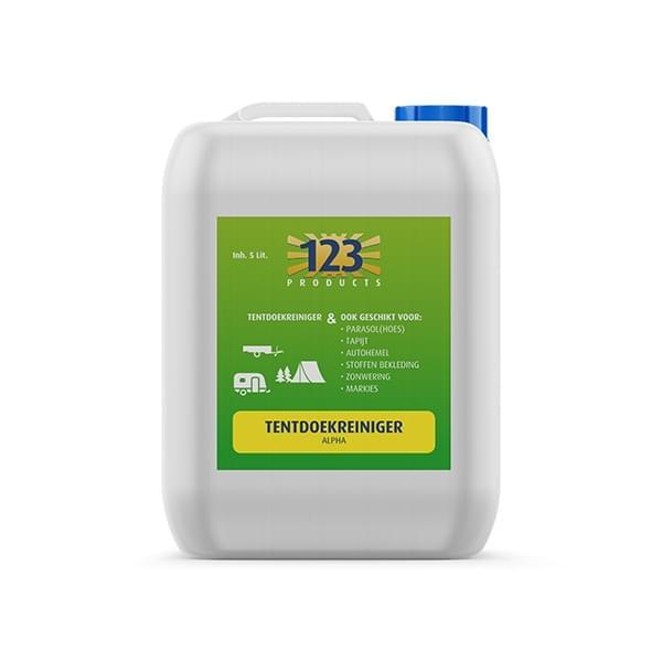 123 Alpha Tentdoekreiniger 5 liter